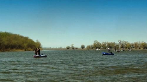ловля на балансир летом с лодки