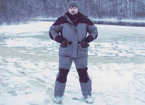 Зимний костюм для рыболовов