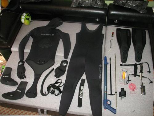 Гидрокостюм для подводной охоты миниатюра