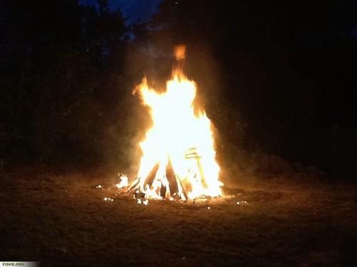 Как разжечь костер