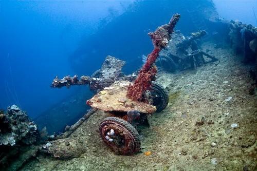 Наиболее интересные места для дайвинга - Лагуна Трук в Тихом океане