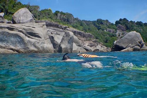 Исследуем подводную живность - снорклинг-тур на острова Симилан