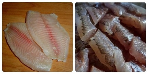 Рыбное филе как наживка