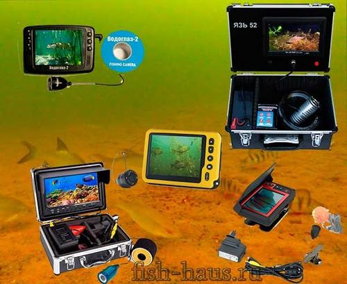 Подводная камера для рыбалки зимой