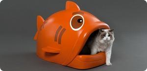Виды кошачьих туалетов