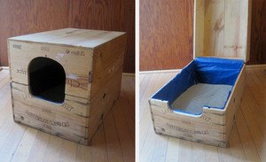 Закрытый лоток для кошек