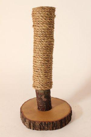 Из какой веревки сделать когтеточку