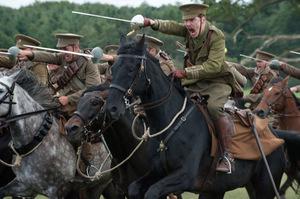 Боевая профессия лошади фото