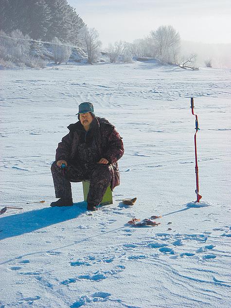 Снежное бездорожье и слабый клев рыбы