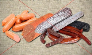 Описание запрещённых продуктов для кормления хомяков