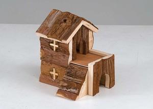 Как сделать домик для хомяка из дерева