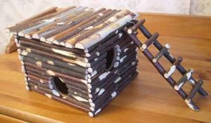 Простые способы сделать домик для хомяка