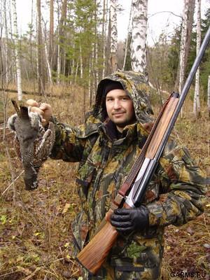 Охота на рябчика обыкновенного