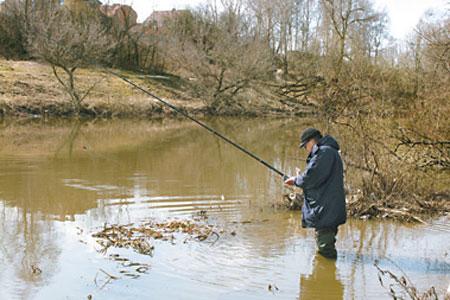 Время и место ловли, на весенней рыбалке