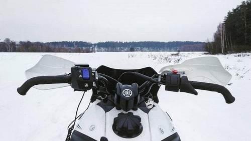 Накладки и расширители для лыж на снегоходы Ямаха