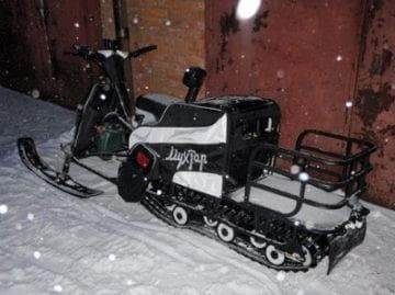 снегоход мухтар 15