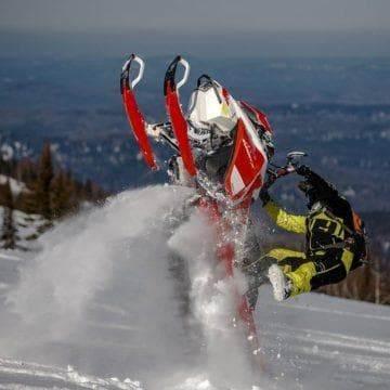регулировка лыж на снегоходе