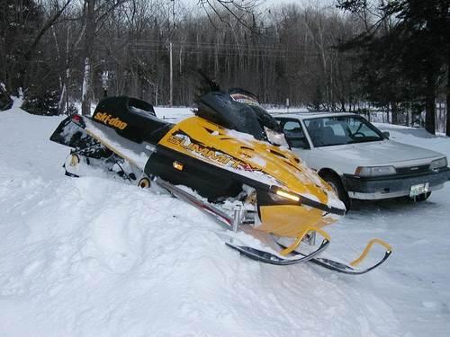 Снегоход БРП Саммит 670 и 800