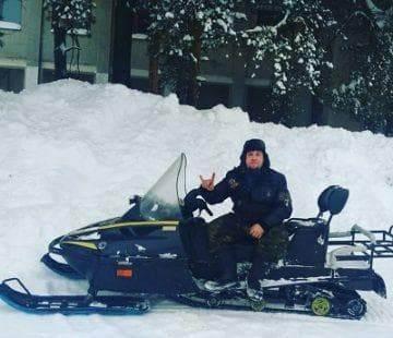 снегоход с двигателем от матиза