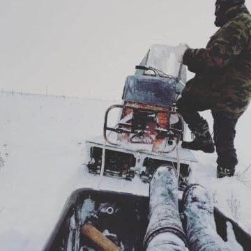 Устройство вариатора для снегохода Буран