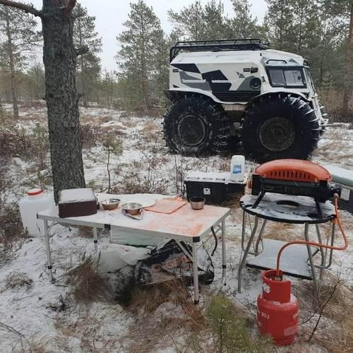 Снегоболотоход Шерп