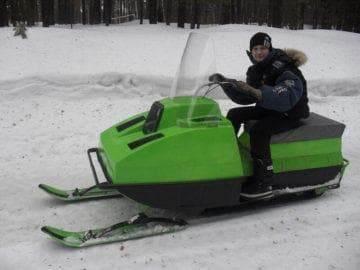 Снегоход «Лайка 2 м»