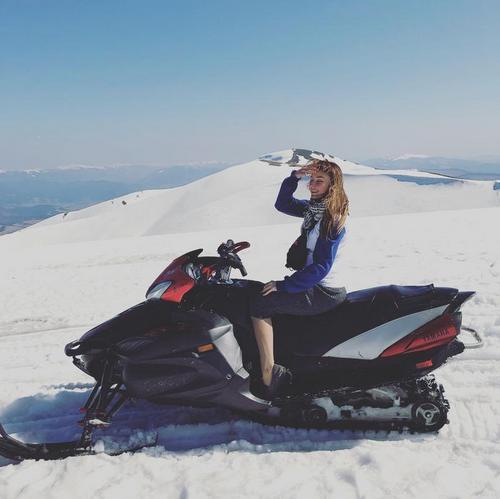 Снегоход Ямаха вентура