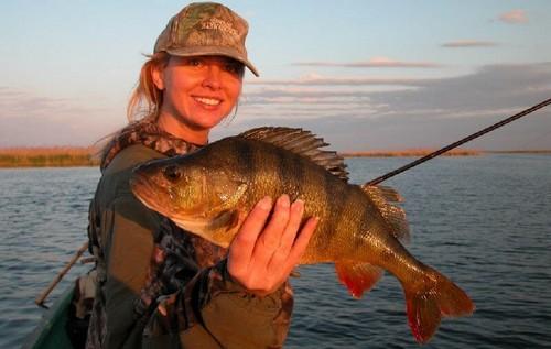 Первый раз на рыбалку
