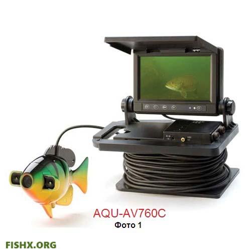 Видеоудочка AQU-AV760C