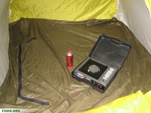 Ночлег в палатке осенью