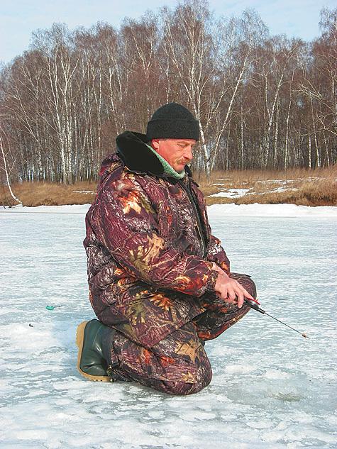 Прибрежная рыбалка в оттепель