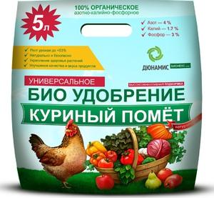 Использование куриного помета