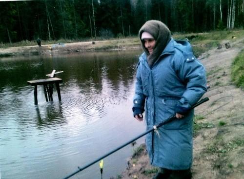 Будучи страстным рыболовом