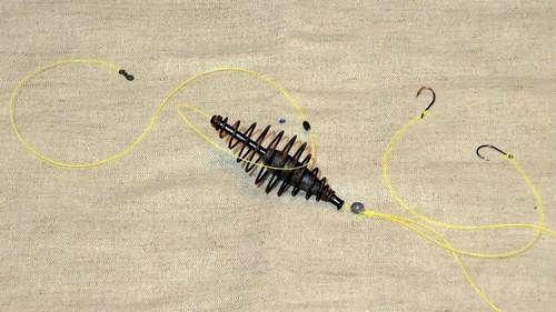 фидерная оснастка на леща