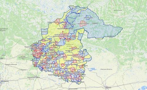 Обновлена карта охотничьих угодий Тюменской области