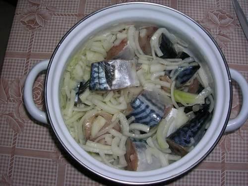 рецепт соленой скумбрии в домашних условиях