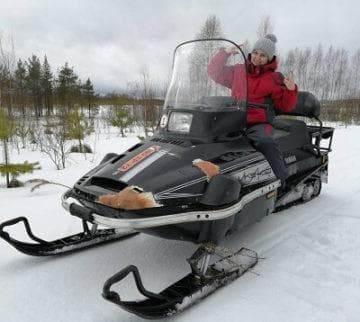 лыжи для снегохода ямаха