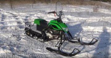 снегоход лидер 150