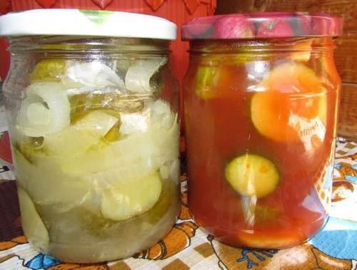 салат на зиму из скумбрии с овощами на зиму