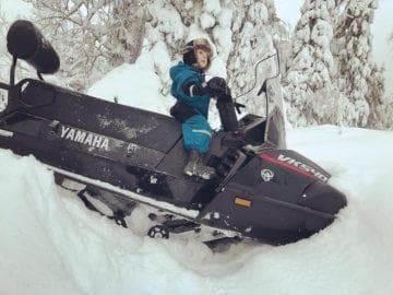 снегоход ямаха викинг 5