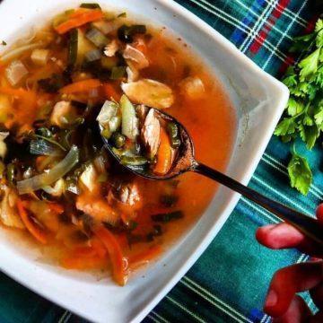 суп из бычков в томатном соусе