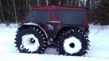 Снегоболотоход Медведь